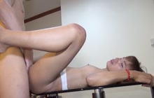 She gets fucked for money