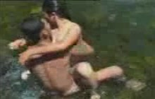 Filipino couple fucking outdoors