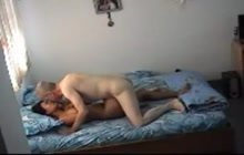 White guy banging Asian wife