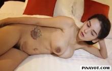 Big tit Filipina babe with a tourist