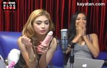 Pinay Mae sa Mocha Girl Nag Demonstrate Ng Blowjob