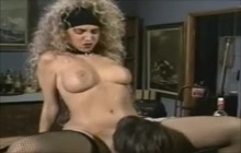 Classic MILF Pornstar Licked and Fucked